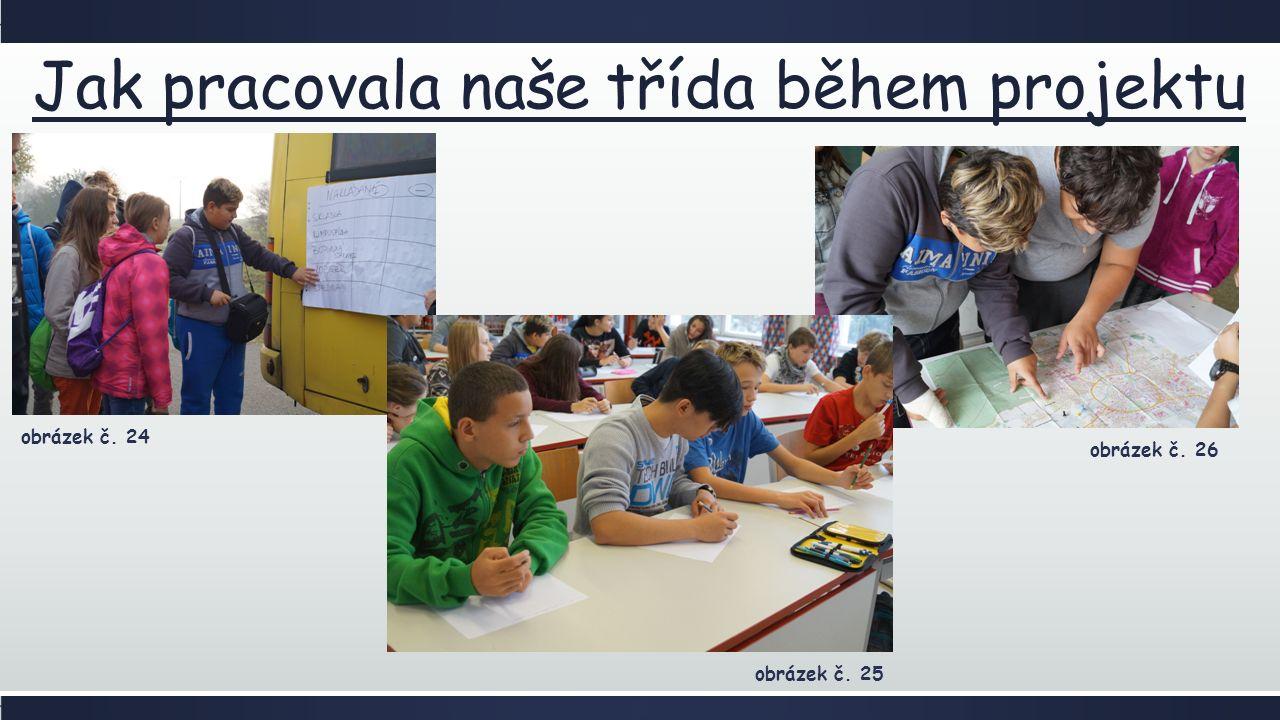 Jak pracovala naše třída během projektu obrázek č. 26 obrázek č. 24 obrázek č. 25