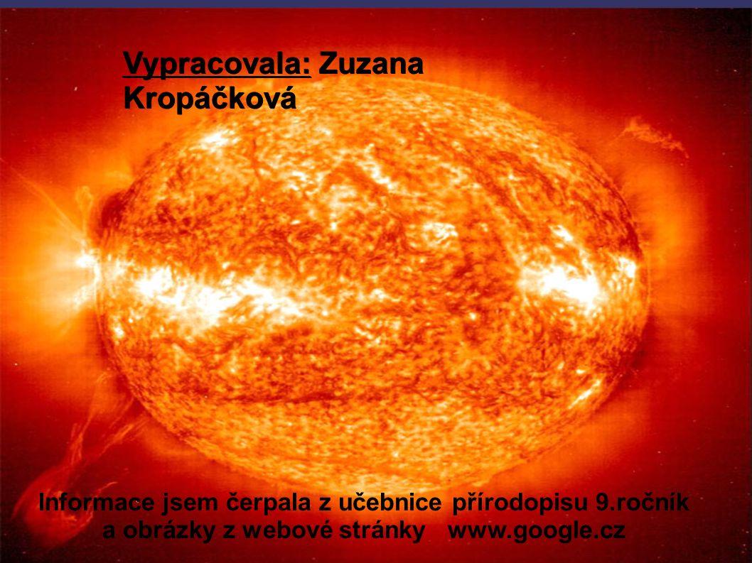 Vypracovala: Zuzana Kropáčková Informace jsem čerpala z učebnice přírodopisu 9.ročník a obrázky z webové stránky www.google.cz