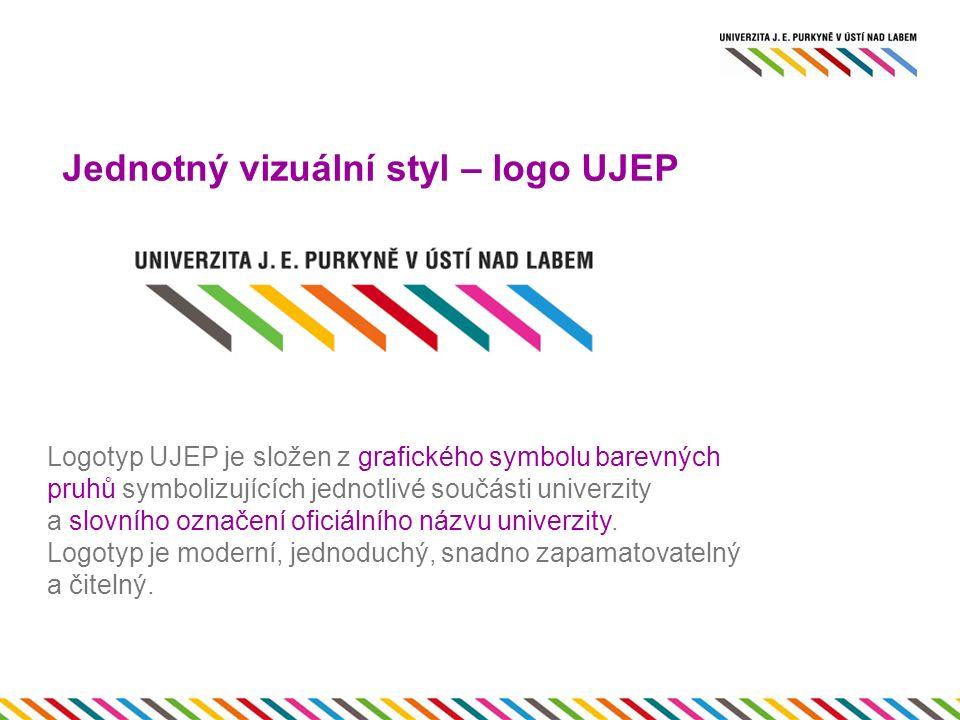 Jednotný vizuální styl – logo UJEP.