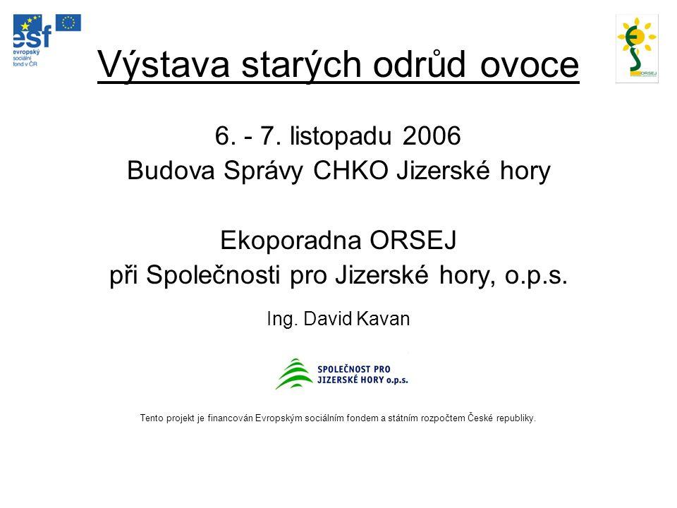 ´RUBÍN´ (´Golden Delicious´x ´Lord Lambourne´) Původ:ČR, Otto Louda ve Střížovicích; registrace 1983 Konzumní zralost:X.-II.