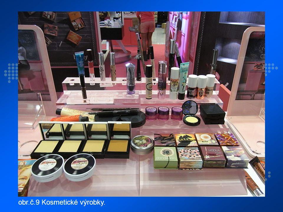 obr.č.9 Kosmetické výrobky.