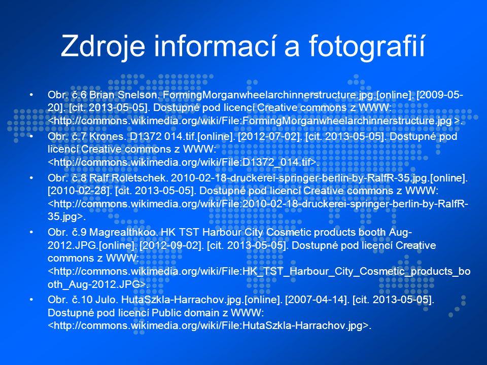 Zdroje informací a fotografií Obr. č.6 Brian Snelson.