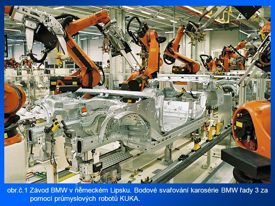 obr.č.1 Závod BMW v německém Lipsku.
