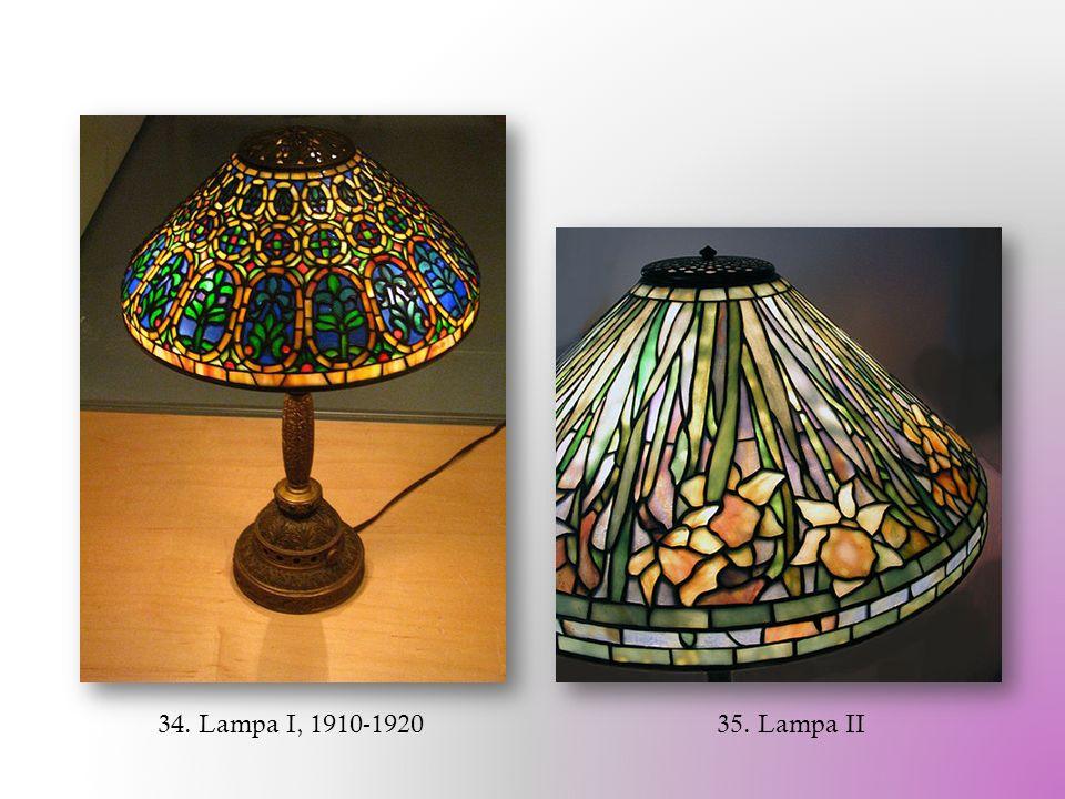 34. Lampa I, 1910-1920 35. Lampa II