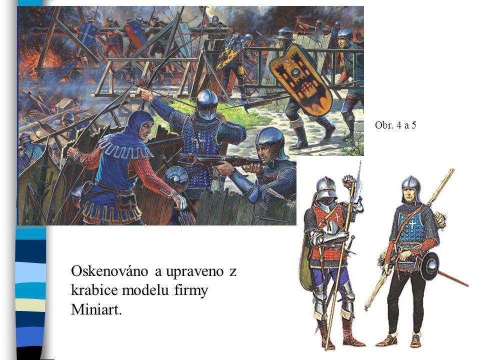 Obr. 4 a 5 Oskenováno a upraveno z krabice modelu firmy Miniart.