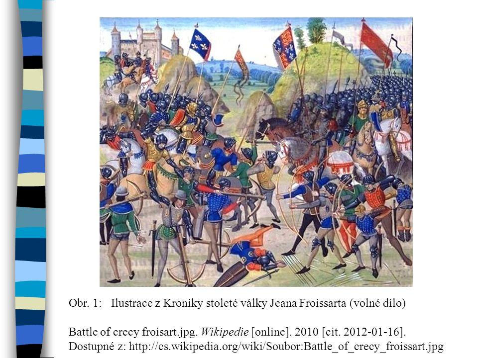 Obr.9: Oskenováno z KOVAŘÍK, Jiří. Rytířské bitvy a osudy.