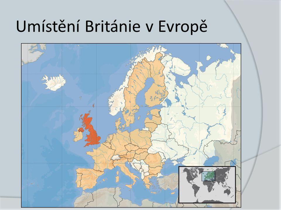 Administrativní dělení Británie