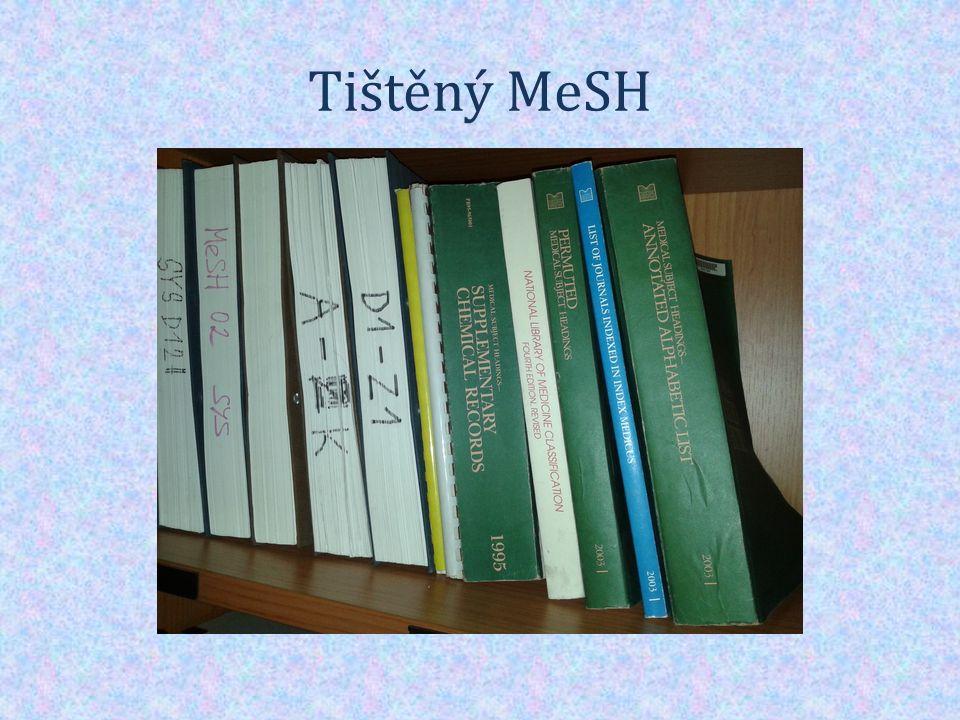 Tištěný MeSH