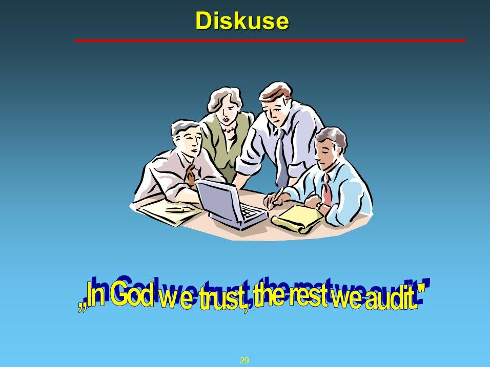 29 Diskuse