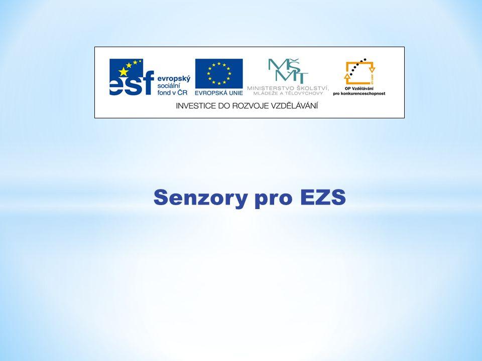 Senzory pro EZS