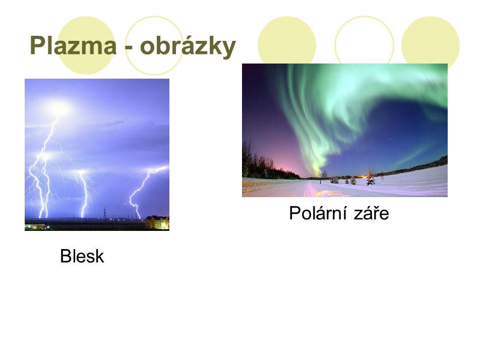 Plazma - obrázky Blesk Polární záře