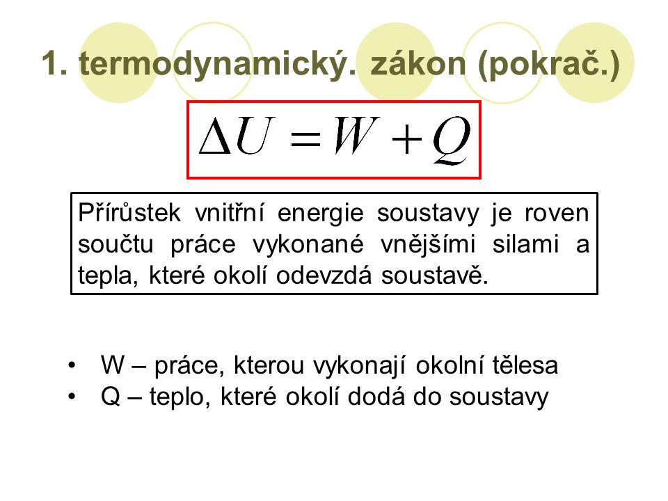1. termodynamický.
