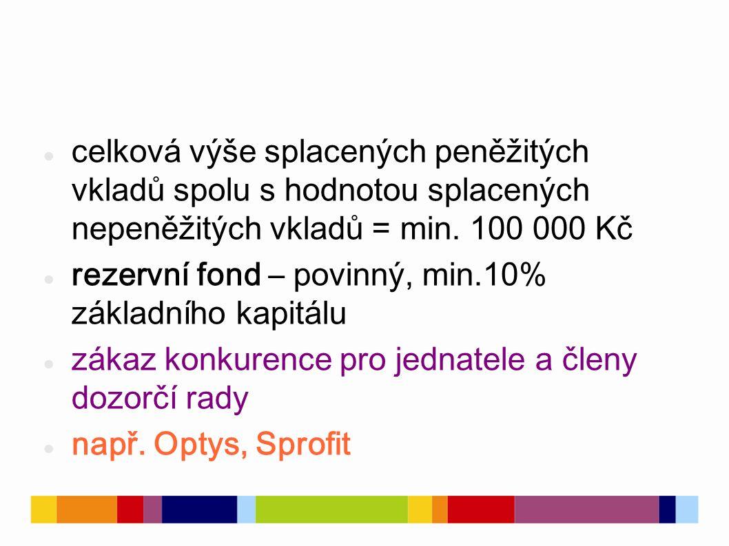 Akciová společnost akc.spol., a. s.
