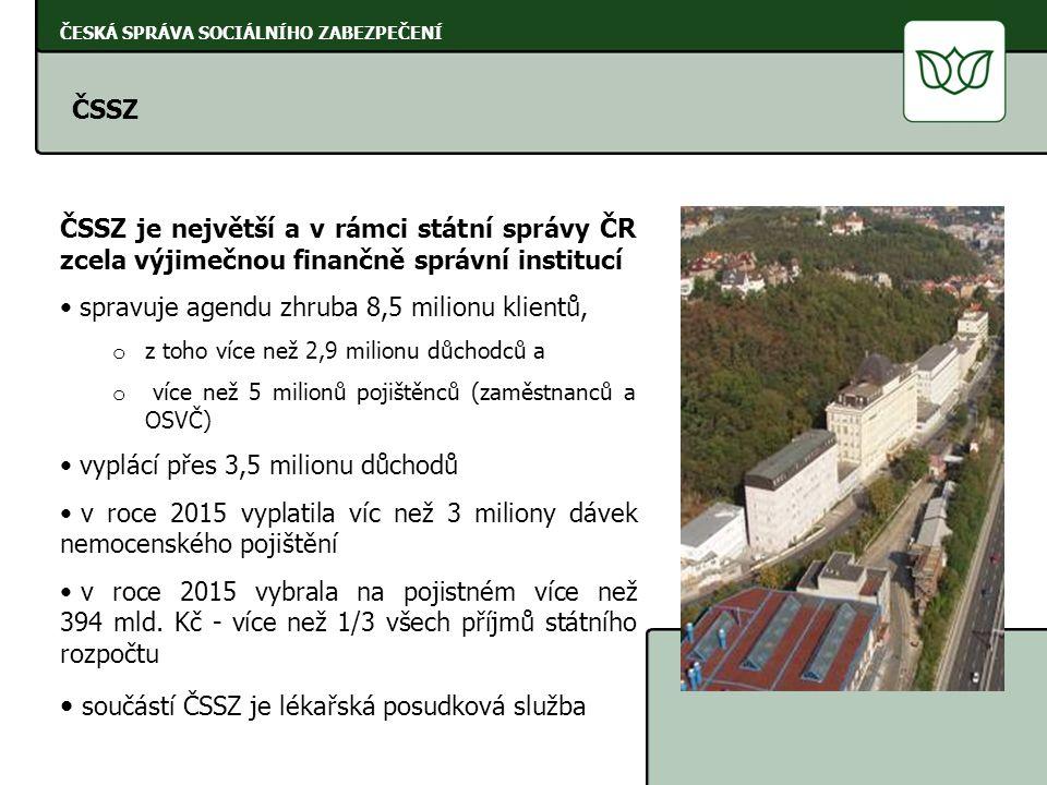 ČESKÁ SPRÁVA SOCIÁLNÍHO ZABEZPEČENÍ http://www.cssz.cz/cz/evropska-unie/ Informace