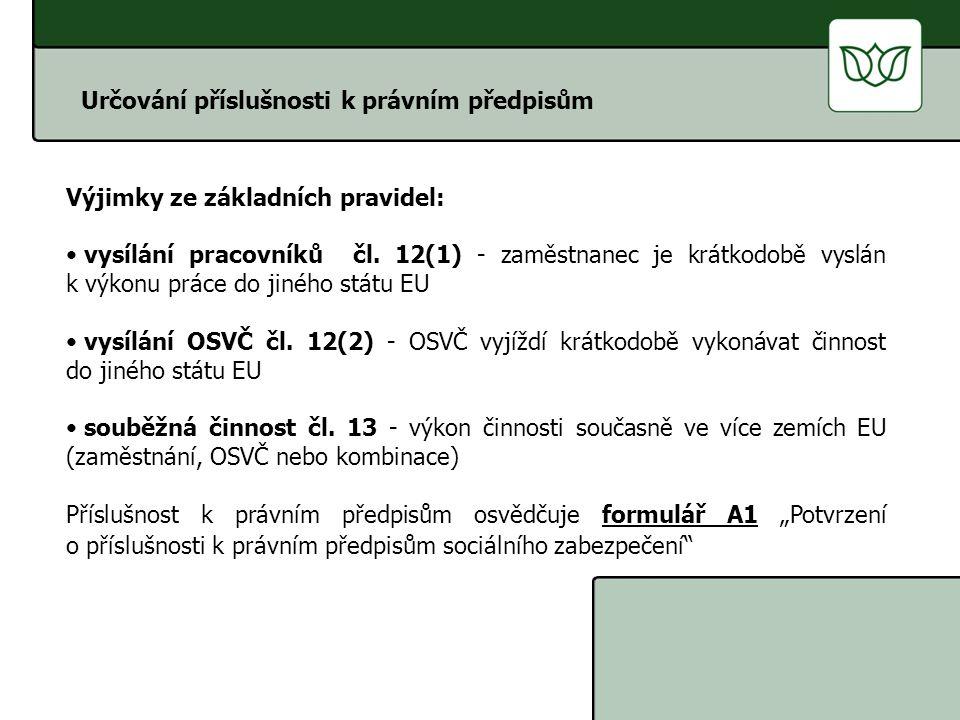 Vysílání zaměstnanců čl.