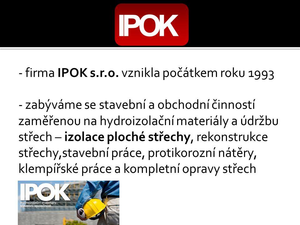 - firma IPOK s.r.o.