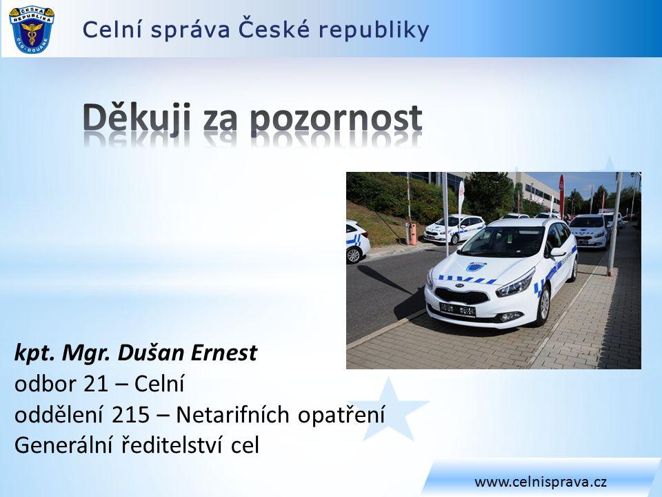 Celní správa České republiky www.celnisprava.cz kpt.