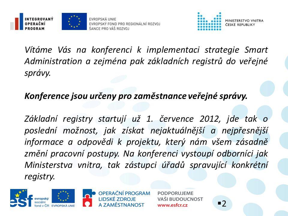 Hlavní milníky Zákon 111/2009 Sb.