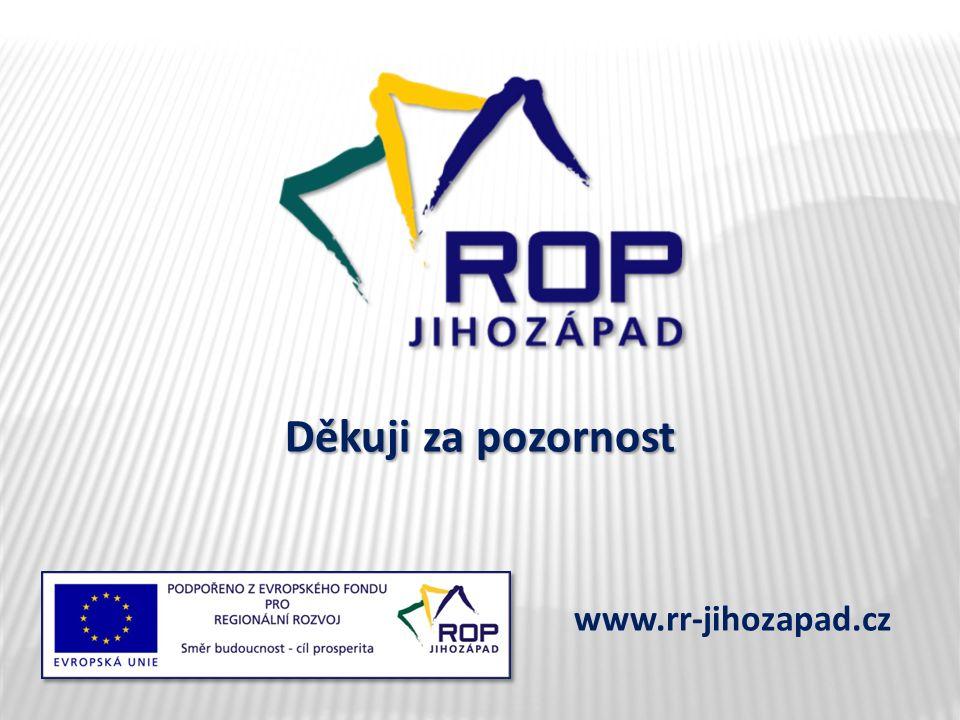 Děkuji za pozornost www.rr-jihozapad.cz