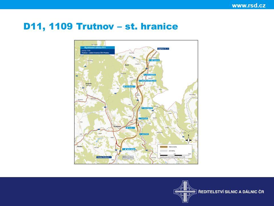 www.rsd.cz D11, 1109 Trutnov – st. hranice