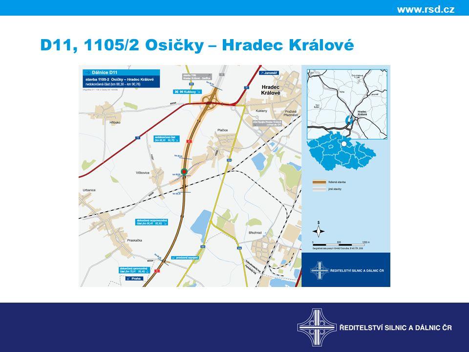 www.rsd.cz D11, 1105/2 Osičky – Hradec Králové