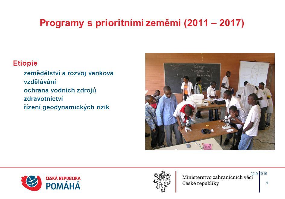 Program vládních stipendií pro studenty z rozvojových zemí Poskytování vládních stipendií občanům z rozvojových zemích - dlouhodobá tradice od konce 50.