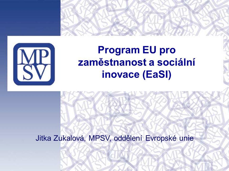 11 Oblasti podpory: Poskytování mikroúvěrů pro zranitelné skupiny a mikropodniky Podpora sociálního podnikání Je zaměřen na podporu poskytovatelů mikroúvěrů.