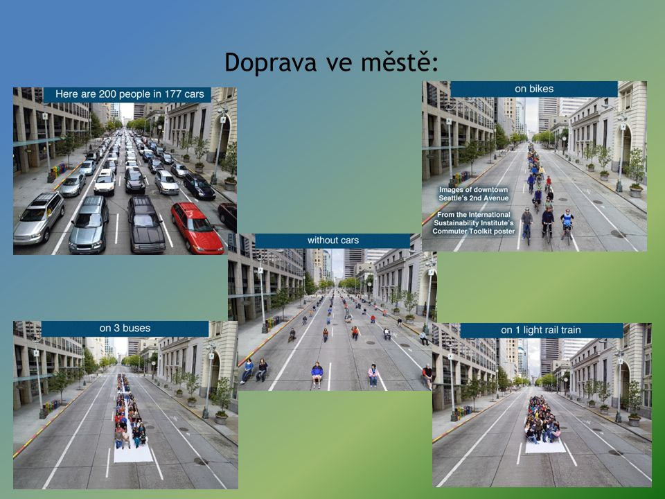 Doprava ve městě: