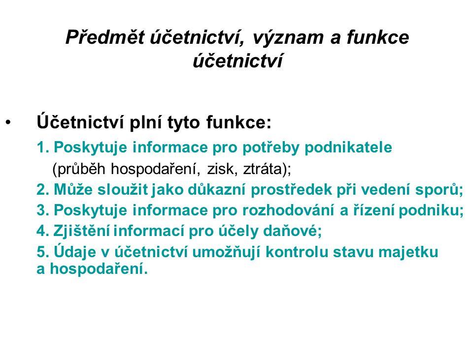 Právní normy Základním předpisem upravujícím účetnictví podnikatelů v ČR je zákon o účetnictví.