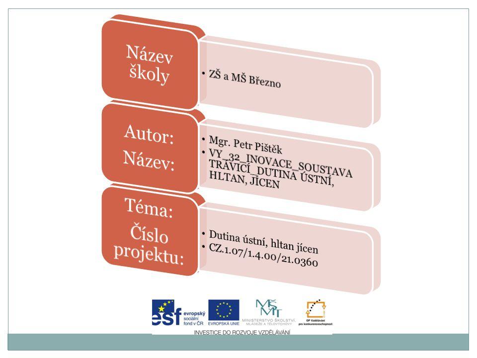 Anotace Výukový program pro žáky 8.ročníku na 2. stupni ZŠ.