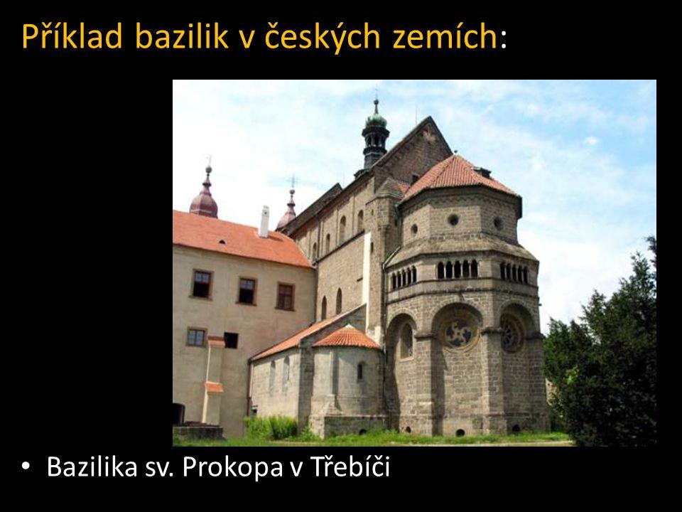 Příklad bazilik v českých zemích: Bazilika sv. Prokopa v Třebíči