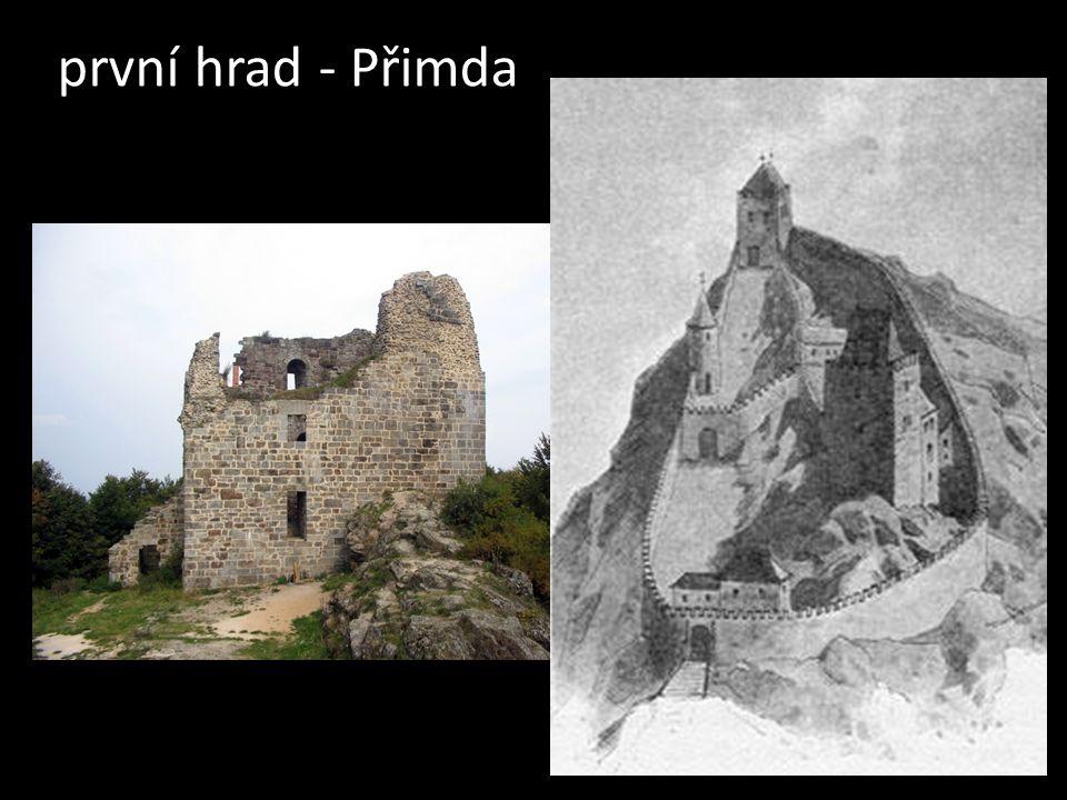 první hrad - Přimda
