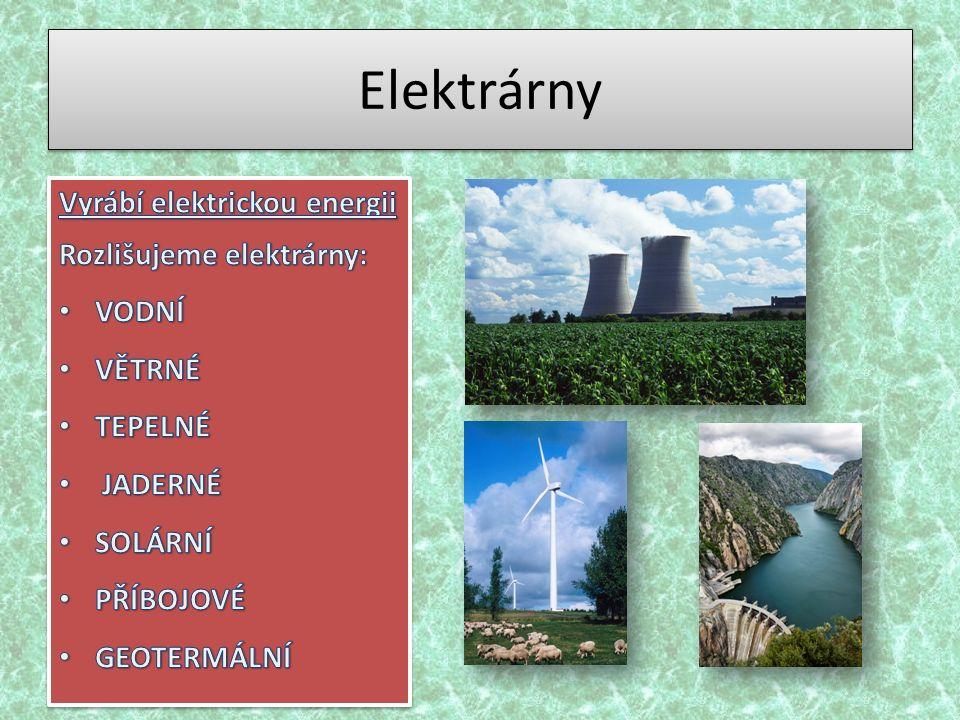 Elektrárny