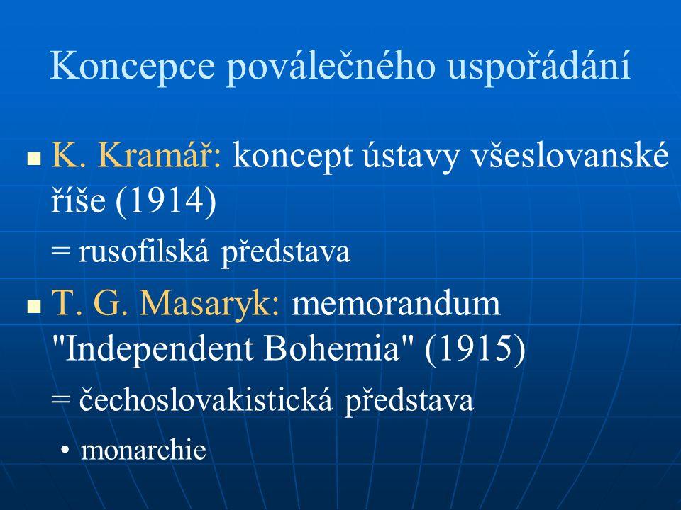 Koncepce poválečného uspořádání K.