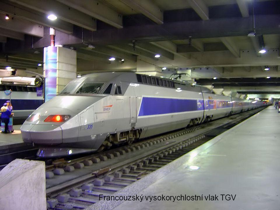Francouzský vysokorychlostní vlak TGV