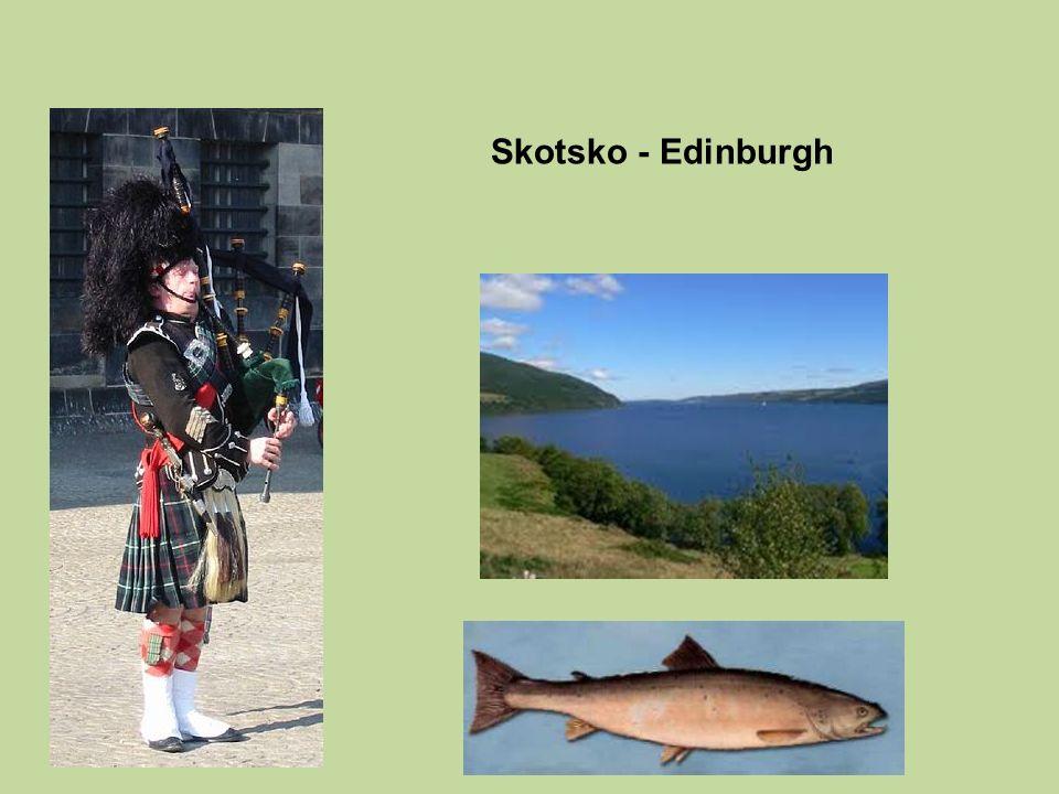 Skotsko - Edinburgh