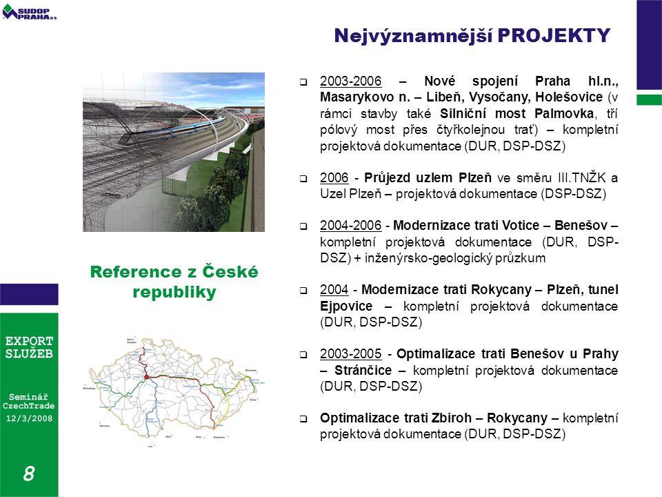  2003-2006 – Nové spojení Praha hl.n., Masarykovo n.