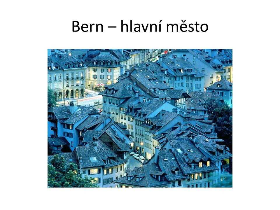 Bern – hlavní město