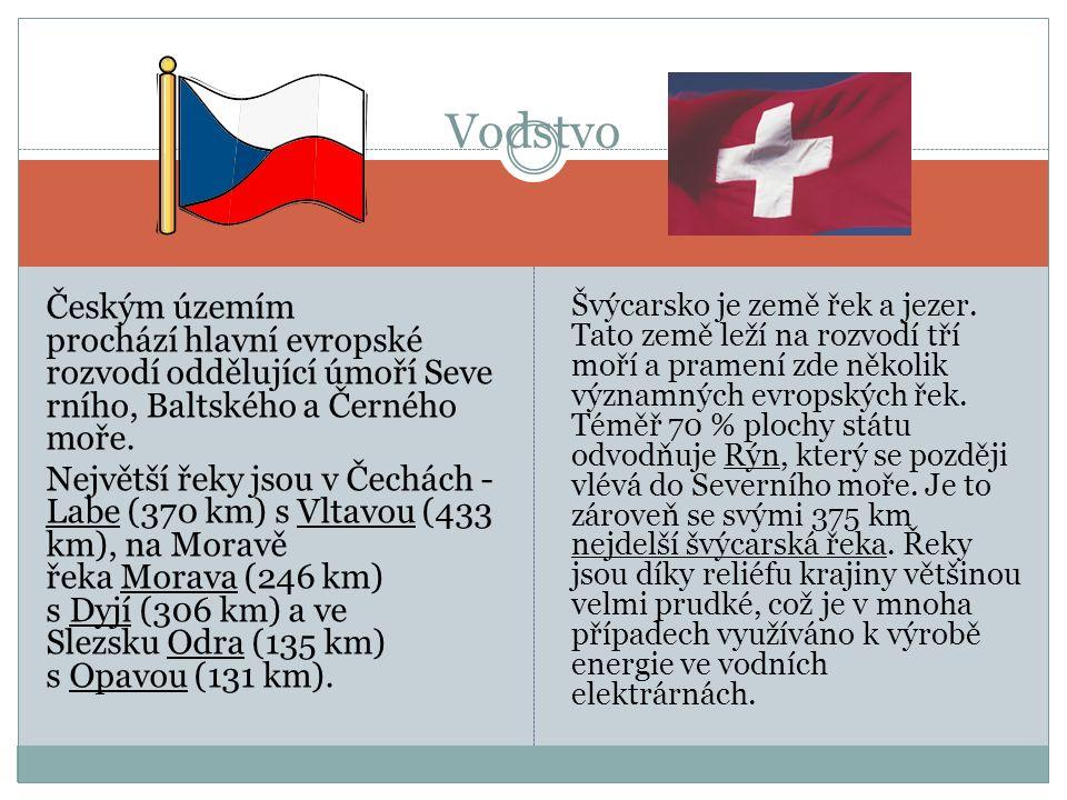 Českým územím prochází hlavní evropské rozvodí oddělující úmoří Seve rního, Baltského a Černého moře.