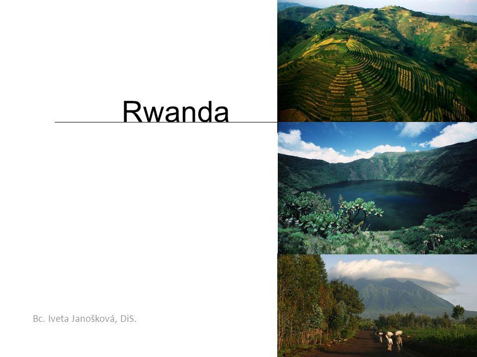 Geografie Státní zřízení:republika Hlavní město:Kigali Rozloha:26 338 km² Počet obyvatel:10 473 282 (r.