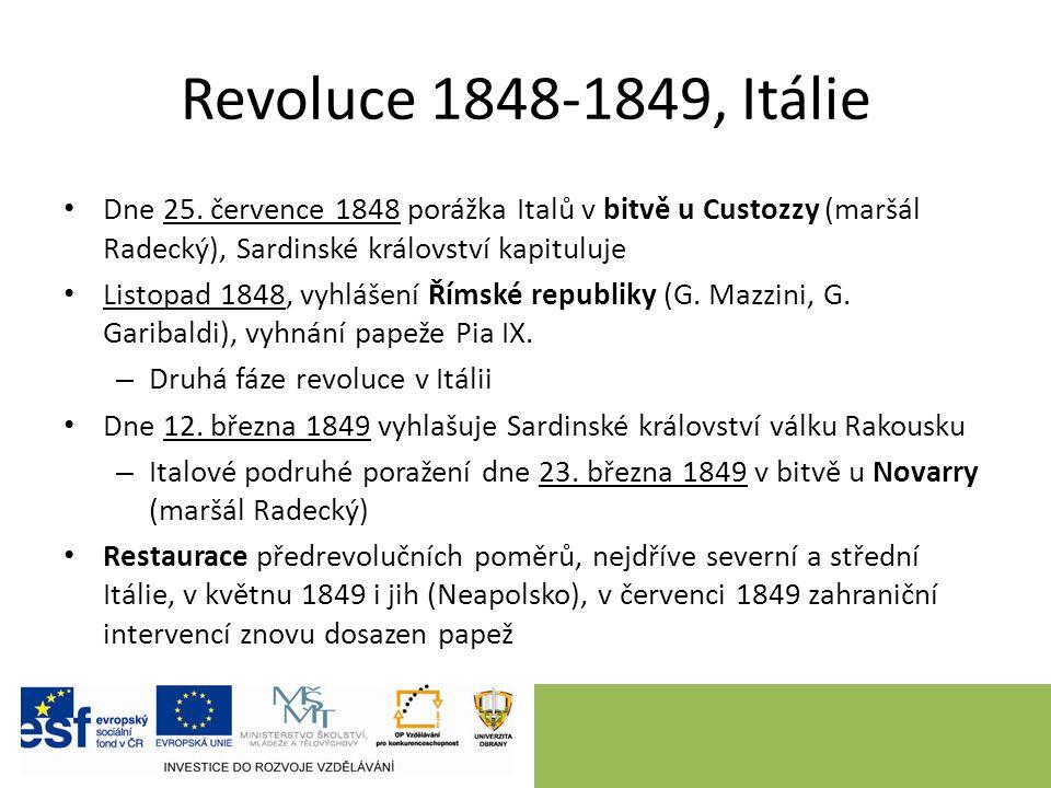 Revoluce 1848-1849, Itálie Dne 25.