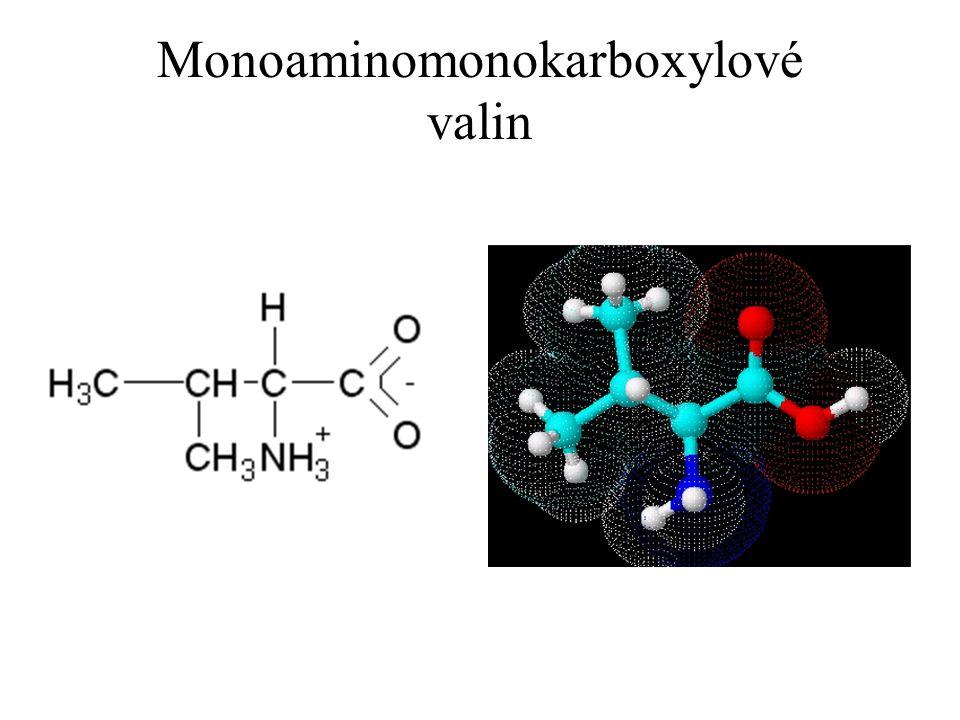 Monoaminomonokarboxylové valin