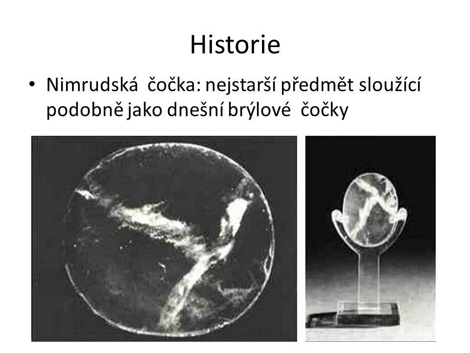 Historie Nimrudská čočka: nejstarší předmět sloužící podobně jako dnešní brýlové čočky