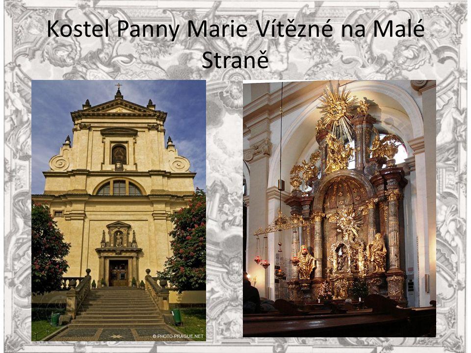 Kostel Panny Marie Vítězné na Malé Straně