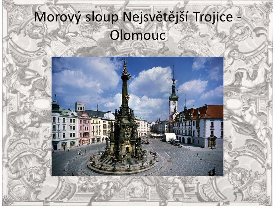 Morový sloup Nejsvětější Trojice - Olomouc