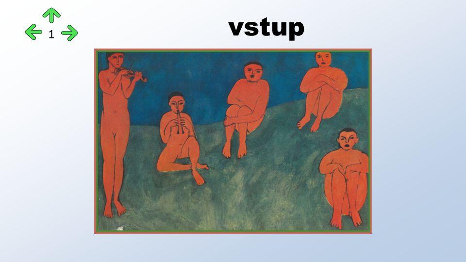 Dvojka ze Chatou Maurice Vlaminck 1876-1958 Pocházel z muzikantské rodiny, byl výborným houslistou, psal romány, pěstoval cyklistiku… Po fauvistickém období (nejfauvističtější z fauvistů) podlehl Cézannovu vlivu, nakonec maloval v osobitém realistickém stylu tradičními prostředky Na podobizně od kolegy Matisse 22