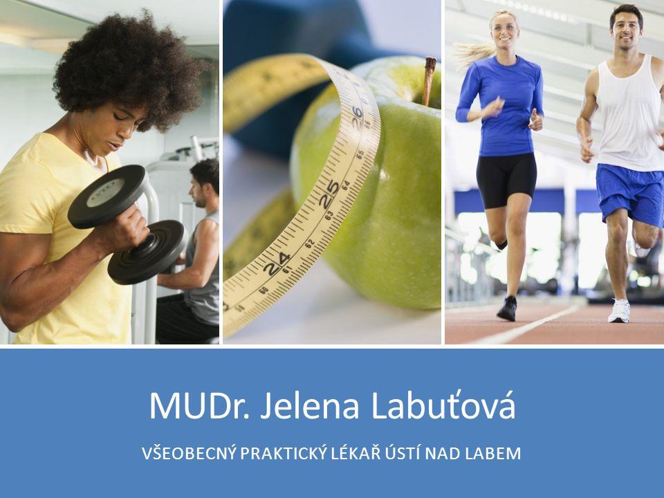 Váhový úbytek, nárůst podílu svaloviny / pokles podílu tuků 13. 11. 2014MUDr. Jelena Labuťová22