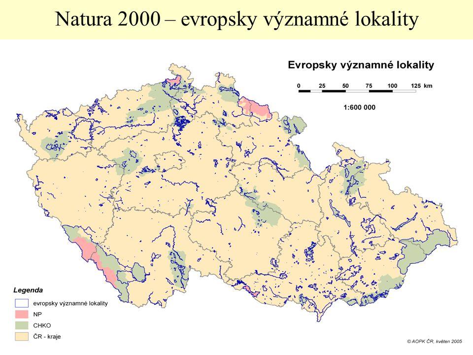 24 Natura 2000 – evropsky významné lokality