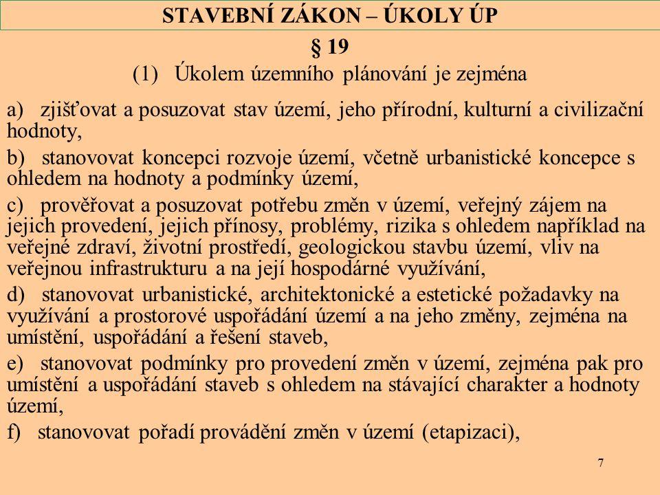 18 VYHLÁŠKA Č.500/2006 SB.