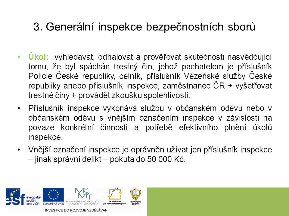 4.Právní úprava postavení a činnosti obecní policie zřízena zákonem č.